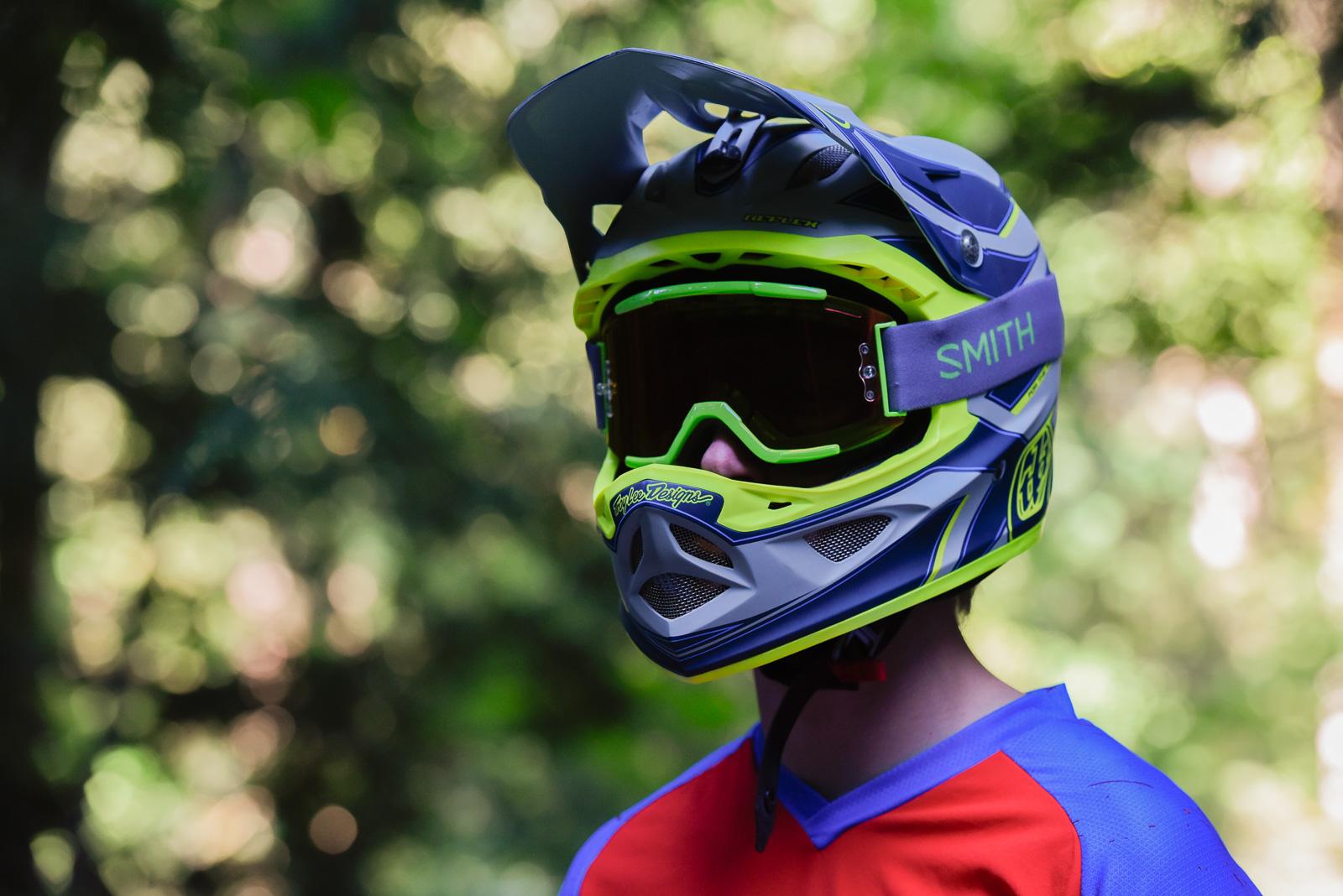 Troy Lee Designs D3 Reflex Helmet Review Freehub Magazine