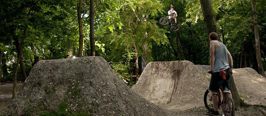 the garden bike park chicag - Garden Dirt