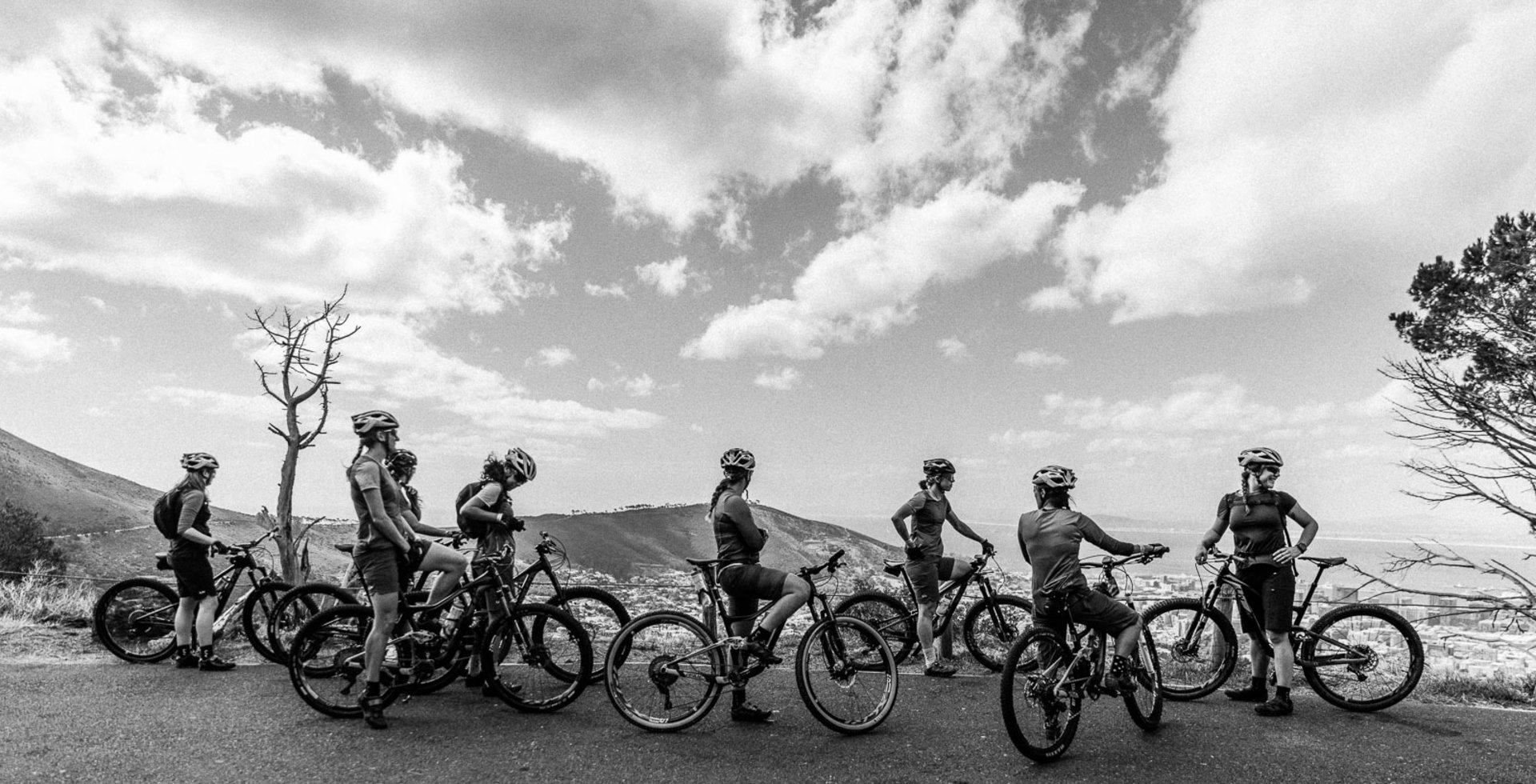 The Trail Squad exploring South Africa before the Cape Epic. While everyone trained on their own, this was the whole crew's first ride together.