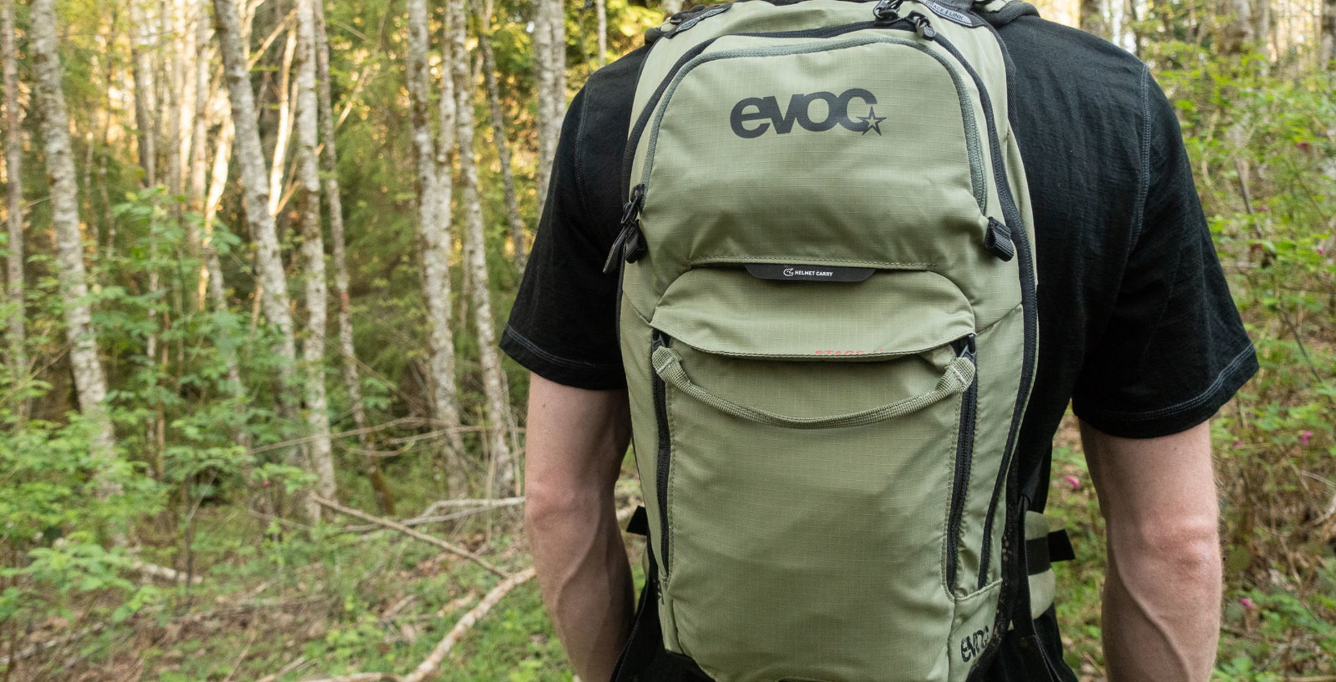 It's rare to find a riding bag that looks as inconspicuous as the EVOC Stage.