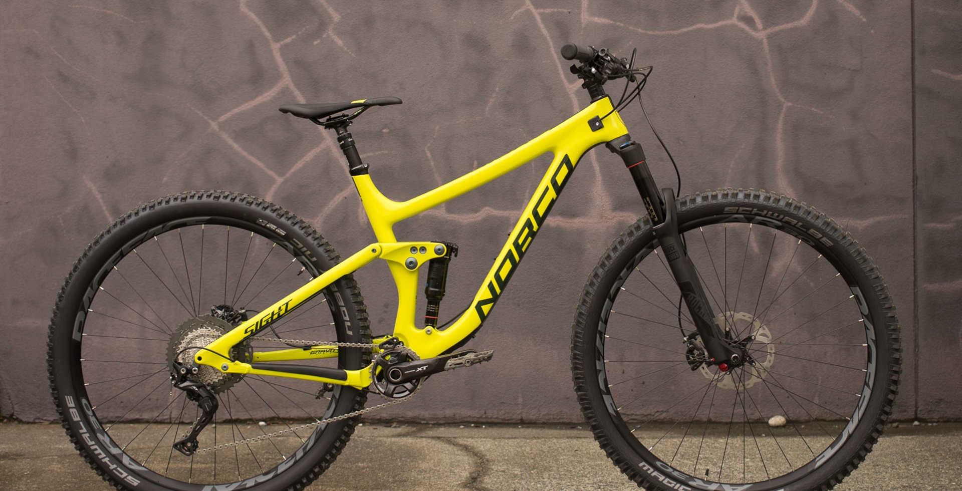 Norco's redesigned Sight features an extra short rear end and low bottom-bracket height, engineered to handle both rowdy descents and demanding climbs.