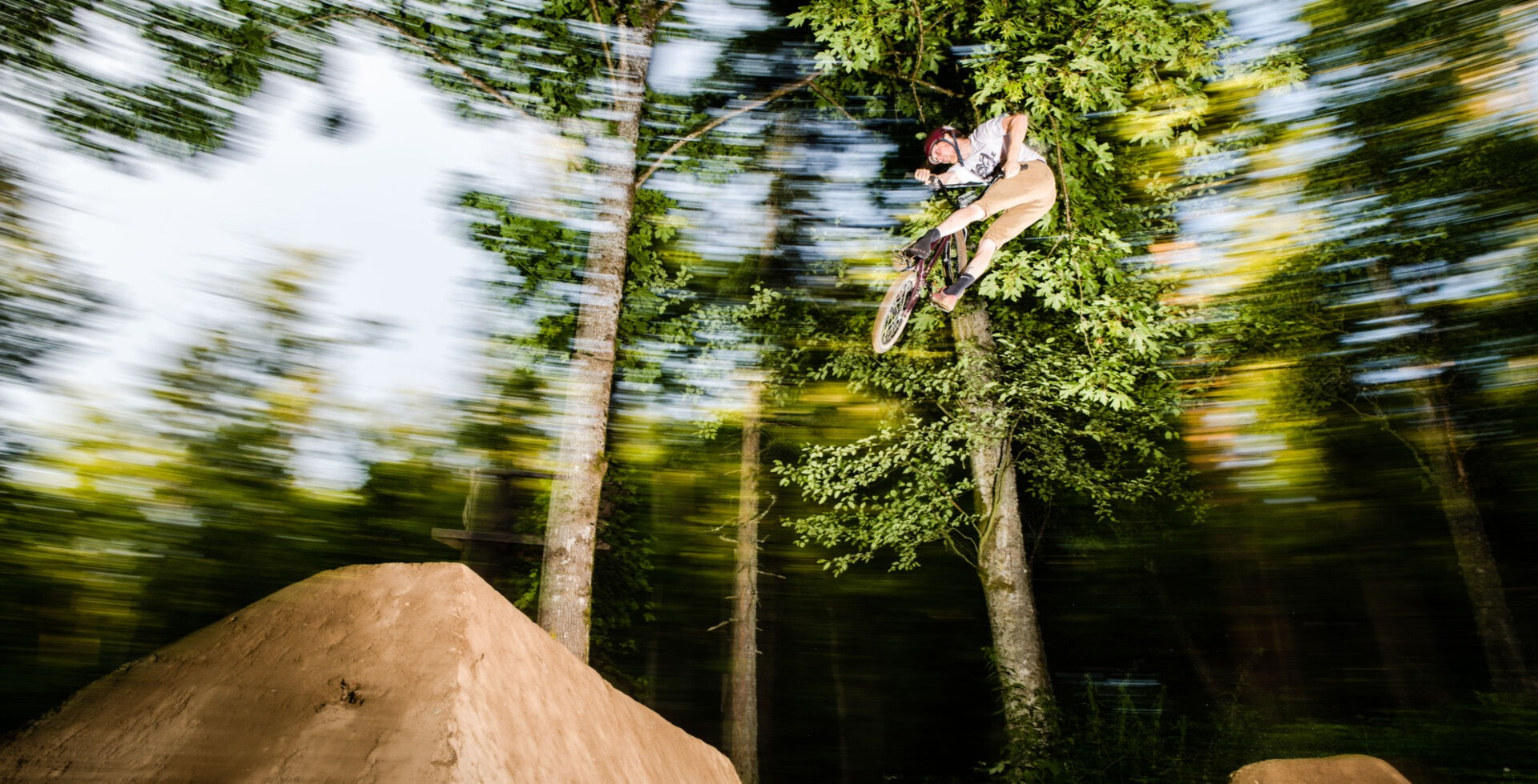 Scott Scamehorn on the Megaladon jump on Main Line.