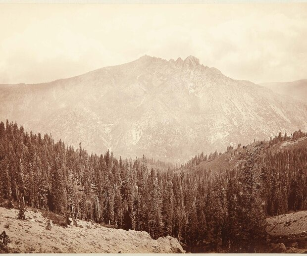 On September 14, 1849, Francis Anderson found gold at the confluence of the Yuba and Downie rivers, where the town of Downieville now sits. Within a year, thanks to the abundance of said precious metal, the town had 15 hotels, four butcher shops and multiple saloons. After years of booming and even more of busting, the town now has a population of about 300 people. Photo courtesy of California State Library