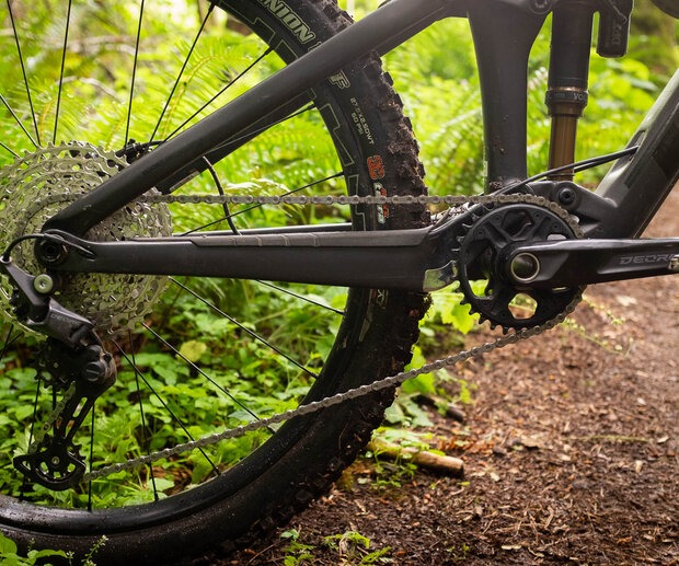 Shimano Deore is an affordable options that will still hold up to any terrain you throw at it.
