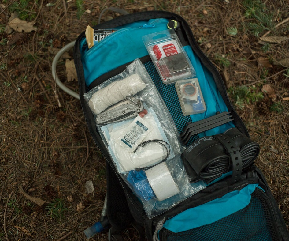 It is almost always better to be over prepared than under prepared when you're on the trails.