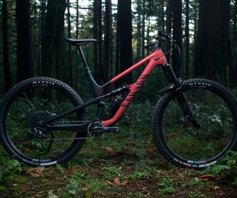 The Spectral 29 is Canyon's do it all trail bike.