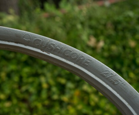 "The CushCores come in both 27.5"" and 29"" versions for all those who huck."