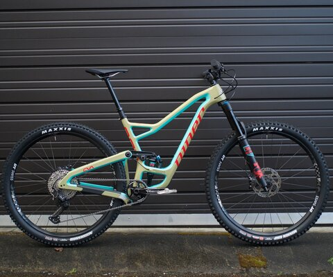 The RIP 9 RDO is longer, lower, and slacker than any Niner ever made.