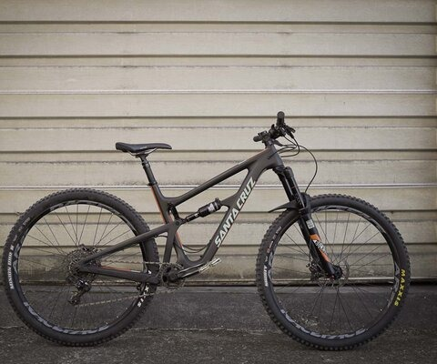 """Santa Cruz's Hightower is a different and versatile take on a trail bike, thanks to the fact that the geometry can support either 29"""" or 27.5+."""