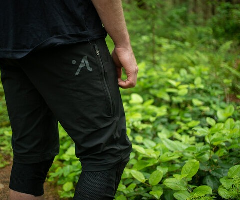 Comfortable is an understatement with the Abit slim-fit shorts.