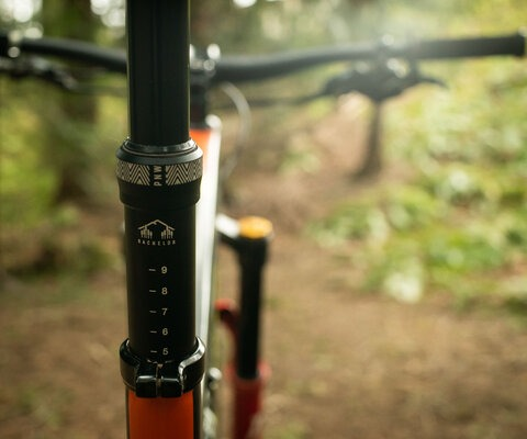 Offered in all combinations of 150mm, 170mm travel and 30.9, 31.6 and 34.9 diameters, there's a Bachelor for every bike.