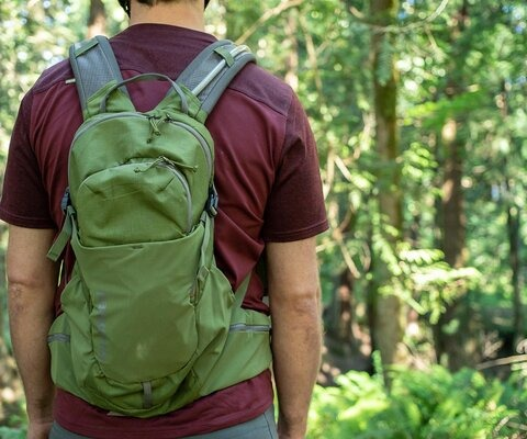 At 14 litres, Patagonia's Nine Trails pack is good for everything from backyard jaunts to all-day epics.