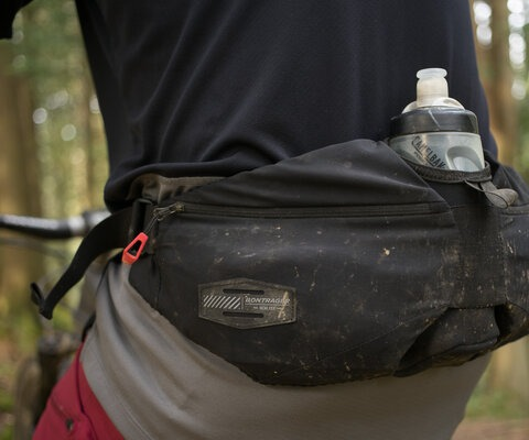 Bontrager's Rapid Pack is a great substitute for a backpack for short rides and quick missions.