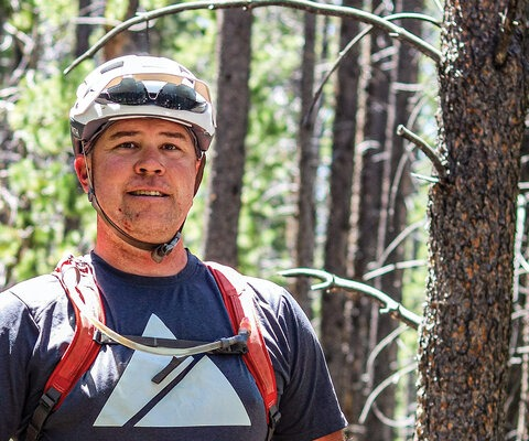 Originally a road racer from Indiana, Greg Mazu transitioned from pavement to dirt and went on to found Singletrack Trails, a Colorado-based trailbuilding company with over 1,000 miles of trail design and construction in its portfolio. Photo: Bergen Khare