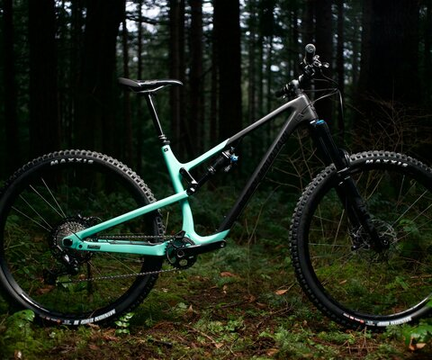 The Instinct has been designed for epic rides and wide-open singletrack.