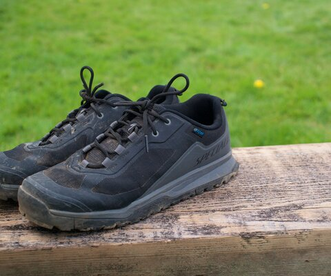 The Rime Flat shoe is ready for those adventure rides that require a bit of hiking to get to the goods.