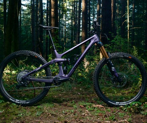 Transitions latest bike the Spire or they are calling it, the Nimble Bruiser.