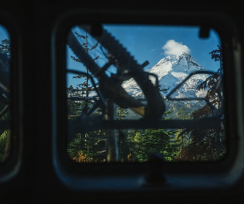 Nestled in the shadow of Mount Hood, the community of Hood River is one that is increasingly bonded by mountain biking and trailbuilding. SONY, 1/2500, F/2.8, ISO 800