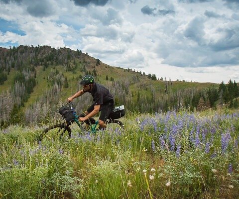 High alpine meadows and rocky ridge line descents—yes please. Steve Dempsey enjoys all the Sawtooth National Forest has to offer.