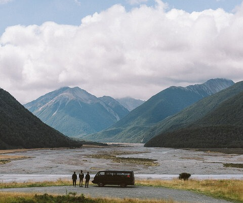 In New Zealand, every view is worth the detour.