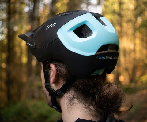 POC's new trail and enduro mountain bike helmet gives exceptional coverage and features some innovative technology.