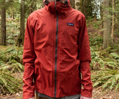 The Dirt Roamer Jacket is Patagonia's first mountain bike-specific jacket and was designed for everything from backyard outings to all-day epics.