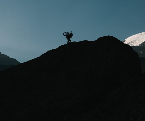 "Extreme hike-a-biking—or ""hoggin',"" as Kenny Smith and his inner circle of adventure-hungry buddies call it—is the entrance toll to the limitless realm of backcountry freeride."