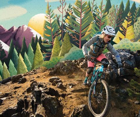 Cover artist: Eric Nyfeller<br>Cover photographer: Tyler Roemer<ber>Rider: Lindsey Richter